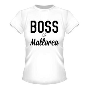 Boss of Mallorca Damen T-Shirt - Weiß