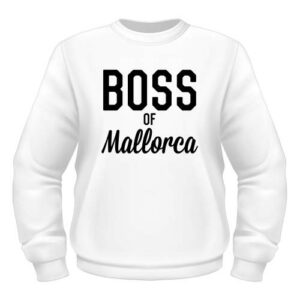 Boss of Mallorca Sweatshirt - Weiß