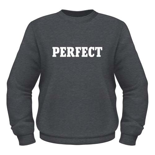 Perfect Sweatshirt - Dunkel Graumeliert