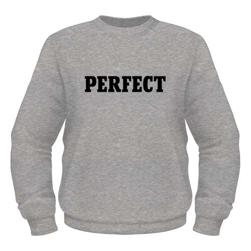 Perfect Sweatshirt - Graumeliert