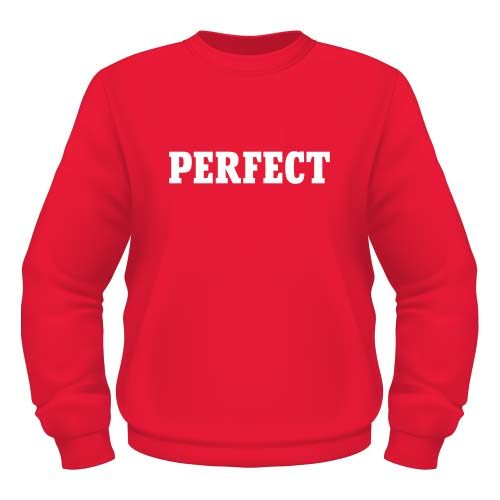 Perfect Sweatshirt - Rot
