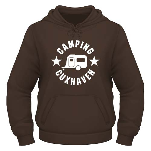 Camping Cuxhaven Hoodie - Chocolate