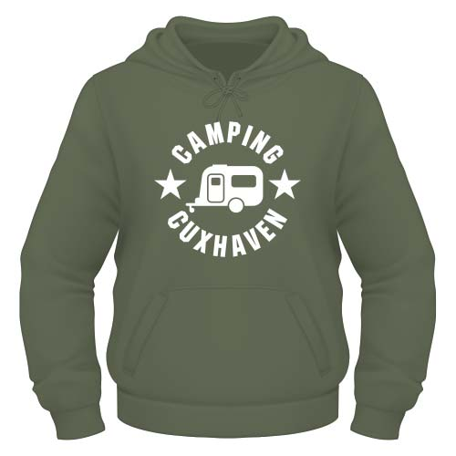 Camping Cuxhaven Hoodie - Olive
