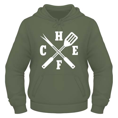 Chefkoch Hoodie - Olive