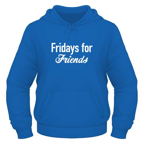 Fridays for Friends Hoodie - Royal