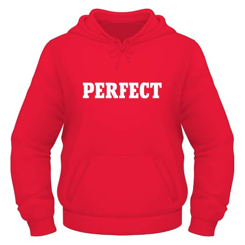 Perfect Hoodie - Rot