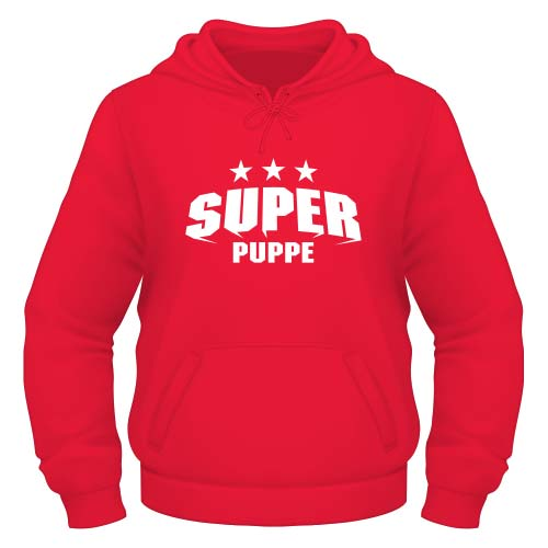 Super Puppe Hoodie - Rot