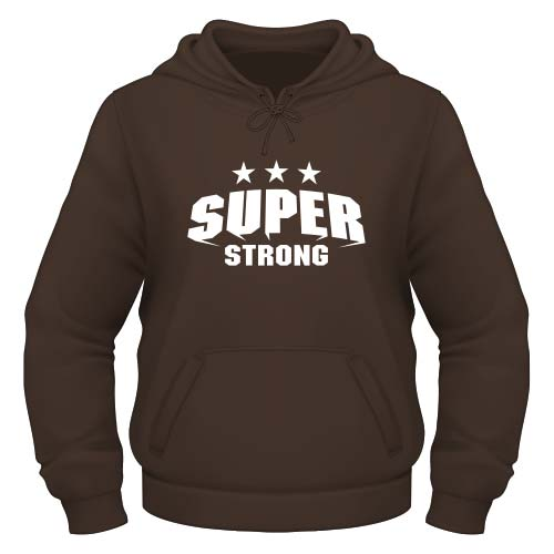 Super Strong Hoodie - Chocolate