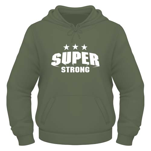 Super Strong Hoodie - Olive