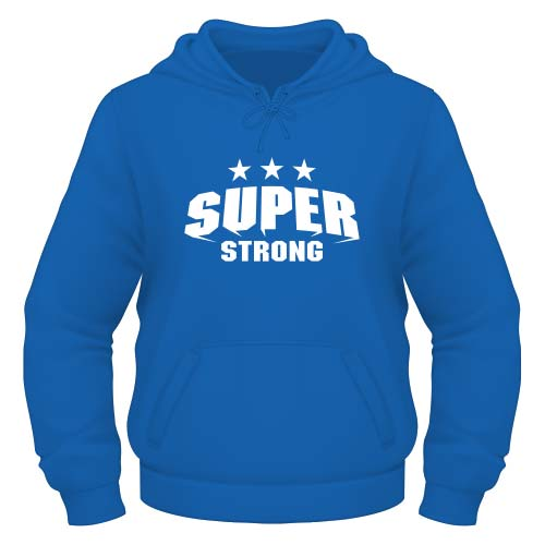 Super Strong Hoodie - Royal